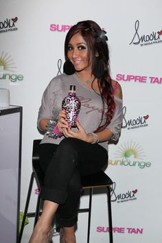 Its Tanuary! Snooki launches her own tanning lotion