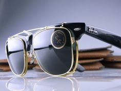 WAYFARER MAX II with the same square CLIP-ON in 54mm size