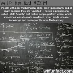 People with poor mathematical skills - WTF fun facts I've been telling people this for years!