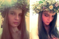 Flower Happiness - Head Wreath