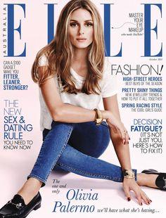 Gucci Loafers - Olivia Palermo - Elle Australia Cover