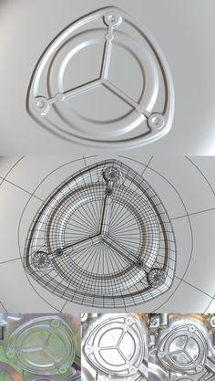 FAQ: Как у модели дем формы? Практические мини-Tuts для механической SUB-D АКА Добавить еще GEO - Страница 141 - Polycount форума