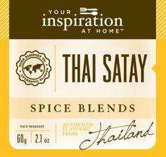 Rich, Spicy, citrus flavours create an authentic Thai taste sensation  http://www.alybrown.yourinspirationathome.com.au/shop-spice-blends.php