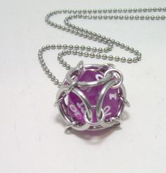dice, necklace, Dungeons and dragons, dice pendant, D20, dice jewelry, geek, geeky, DND, geekery, $12.00