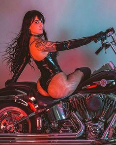 Lady Biker, Biker Girl, Motorbike Girl, Hot Bikes, Hai, Biker Chick, Car Girls, Beauty Full Girl, Up Girl