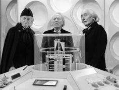 William Hartnell The Original 1st Doctor (Center), Richard Hurndall (Right) playing the First Doctor in The Classic Doctor Who Story The Five Doctors & David Bradley (Left) playing William Hartnell playing The Doctor in An Adventure in Space and Time