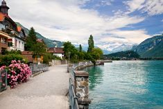Berna-Suiza-Lake in Brienz, Berne, Switzerland