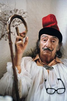 Salvador Dali, Cadaqués, Spanien 1979 by Robert Lebeck: Discover museum-quality art photography