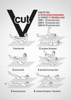 V Cut Workout