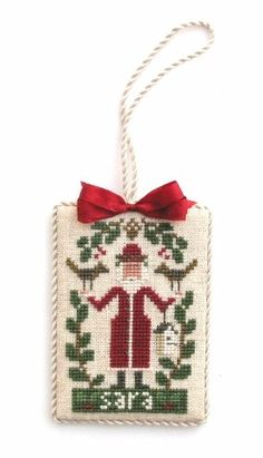 Designer - Prairie Schooler Design Name - A Christmas Visit
