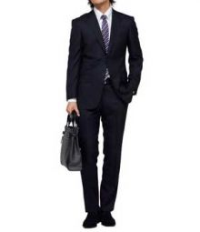 Essential Black Wool Suit