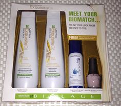 Matrix Biolage ExquisiteOil 'Get the Look' Gift Set *** Want to know more, click on the image. #hairhack