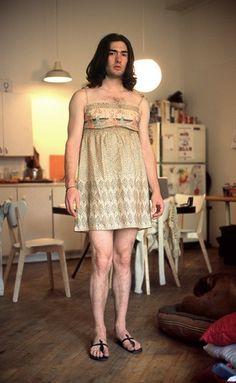 Fotokunst über Männlichkeit im Wandel - Girlfriend-Style