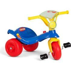 Triciclo Bandeirante Mototico Sport, uma diversão para seu filho.    O tradicional triciclo para acompanhar as aventuras da criançada.