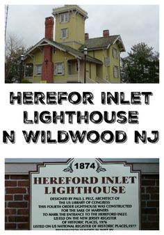 Love lighthouses? Read about Hereford Inlet Lighthouse in North Wildwood New Jersey. Something to every travel bucket list