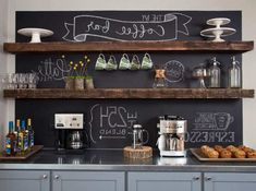 9+ DIY Coffee Bar Ideas And Inspiration at Home Decoration