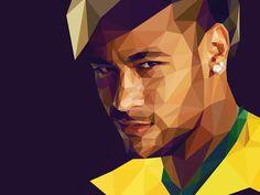 Poly Neymar Jr. #BRA by Breno Bitencourt