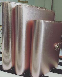 La Rose Gold family (Discagenda, A5 et A6) disponible sur le site www.shiny-boutik.fr. #frenchplanner#shinyboutik #lovedoki #dokibookfrance #discagendadiva #discagenda #dokibookrosegoldsmall #dokibookrosegoldlarge #rosegold