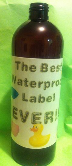 soap making school water proof label making. Professional looking labels.