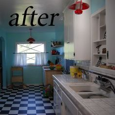 How to for painting kitchen cabinets