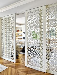 Unbelievable Ideas: Room Divider Wall Decor room divider window home office.Room Divider Furniture Tvs room divider window home office.Temporary Room Divider How To Make. Room Divider Doors, Room Doors, Living Room Divider, Room Divider Ideas Bedroom, Sliding Door Room Dividers, Diy Bedroom, Closet Doors, Interior Sliding Doors, Bedroom Ideas