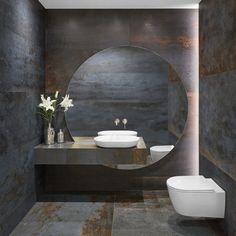 Washroom Design, Bathroom Design Luxury, Bathroom Design Inspiration, Bad Inspiration, Home Building Design, Home Room Design, Lavabo Design, Bad Styling, Modern Bathtub