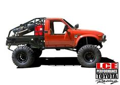 LC Engineering Made in the USA performance parts for Toyota trucks Toyota Pickup 4x4, Toyota Trucks, Jeep 4x4, Mini Trucks, Cool Trucks, Pickup Trucks, Truck Flatbeds, Truck Mods, Toyota Hilux