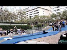 Paris La Défense, changez de point de vue au rythme du hip hop - YouTube