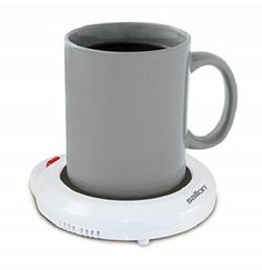 Salton Mug Warmer, White - The Salton mug warmer keeps a full cup of coffee, tea, soup or any other beverage at the ideal drinking temperature. Best Coffee Mugs, Coffee Cups, Tea Cups, Specialty Appliances, Small Appliances, Kitchen Appliances, Mug Warmer, Cool Kitchens, Cleaning Wipes