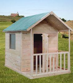Cabane Maisonette enfant Naturelle KANGOUROU LeKingstore Profitez de notre prix exceptionnel de 419€ sur lekingstore.com Contactez nous au 01.43.75.15.90