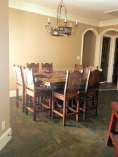 El Tapanco Rustic Home Custom Furniture | Mexican Custom Furniture | Houston ,TX