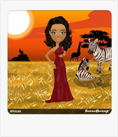 Crimson Gown Fashion Designer Game, Game Design, Safari, Disney Characters, Fictional Characters, Sunrise, Gown, African, Posts