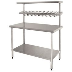 Affordable Solution for Mobile Kitchens CANOPY The compact backshelf ...