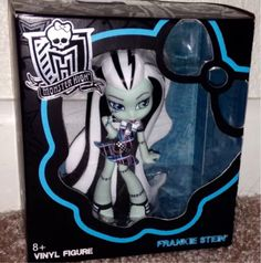 Monster High Vinly Figures Frankie Stein In Box