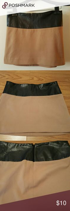 Super Cute Express Brand Mini Skirt Super Cute Express Brand Mini Skirt...Size 0...  13.5 Inches long 14.5 Inch Waist ....61% Polyester 34% Viscose 9% Spandex..Lining 95% Polyester 5% Spandex Express Skirts Mini