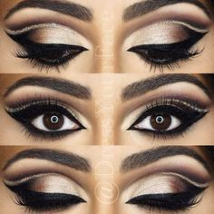 Interesting Makeup Ideas for Dark Brown Eyes ★ See more: https://makeupjournal.com/dark-brown-eyes-makeup-ideas/ #beautymakeupforbrowneyes #eyemakeupideas
