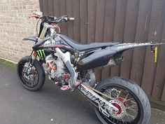 HONDA CRF450 SUPERMOTO