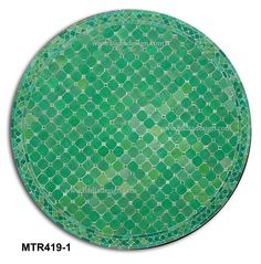 48 Inch Moroccan Mosaic Tile Table Top   MTR419