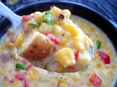 Fiesta Corn & Potato Chowder (makes 6 servings; total cost per serving: $1.45)
