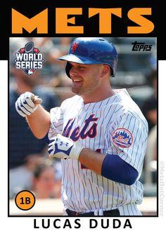 2015 World Series NY Mets Lucas Duda   Mets Hot Corner