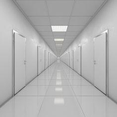 Hallway Doors 3D Model - 3D Model