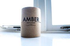 Laboratory Perfumes Amber Candle Packaging | www.latenightnonsense.com