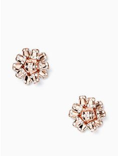 bourgeois bow pave studs by kate spade new york