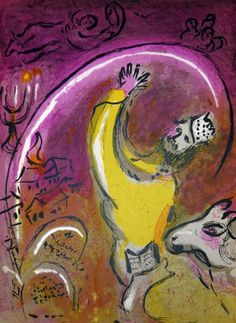 "Marc Chagall - ""Solomon"", 1956"