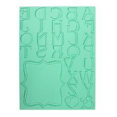 Pavoni Magic Decor Lace Letter Mat 30 x 40 cm  - 41,90€(MEINCUPCAKE Shop)