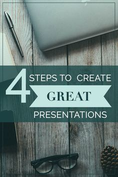 Create great presentations for live audiences (and SlideShare) with these four proven steps: plan, design, practice and give out a freebie.