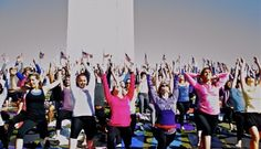 Free Yoga in Dupont Circle - Wednesdays @ 6 pm, brought to you by Lululemon
