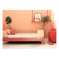 Nobodinoz Junior Bed - Red brick-product