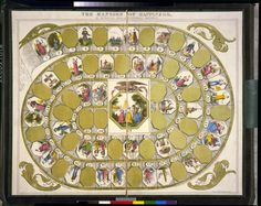 The mansion of happiness, an instructive, moral & entertaining amusement Board Game Design, Landsknecht, Great Awakening, Mystery Of History, Dictionary Art, Map Of New York, Old Games, Historical Romance, Couples In Love
