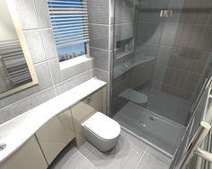 Gallery Website En Suite Shower with Ambiance Bain furniture in Tunbridge Wells Kent Bathroom Design
